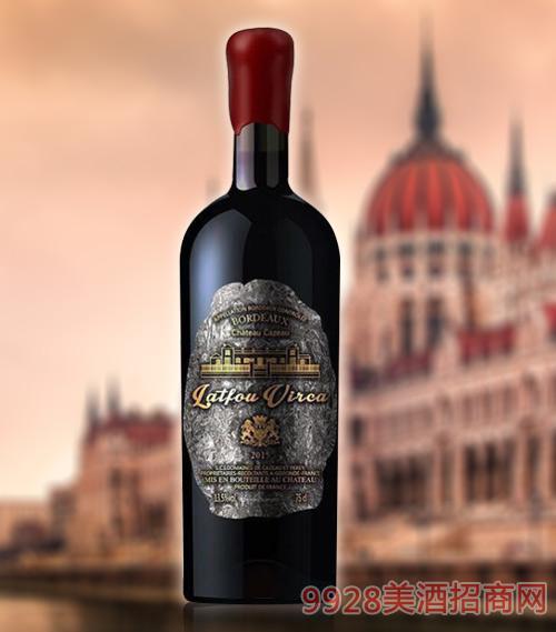 拉图维尔卡皇 家S1干红葡萄酒AOP