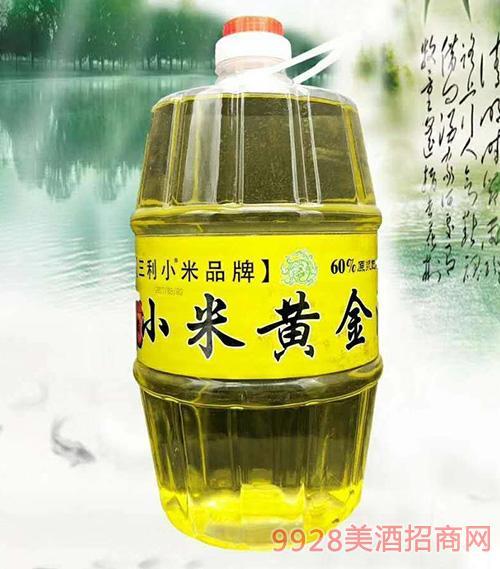 三利小米酒黄金酒60度