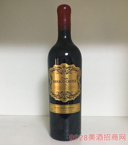 陆易艾诺安城堡赤霞珠干红葡萄酒14度750ml