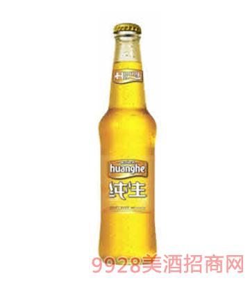 黄河啤酒水晶纯生330mlx20