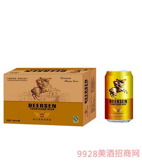 德尔森原浆啤酒330mlx24