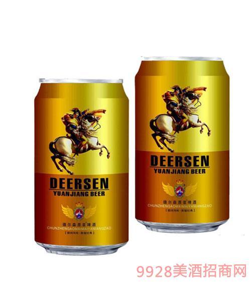 德尔森原浆易拉罐啤酒
