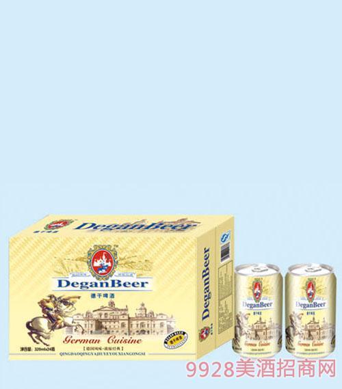 德干啤酒325mlx24