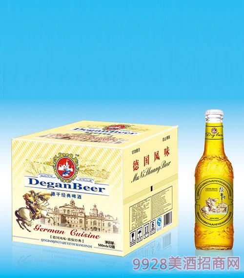 500毫升德干经典啤酒x12