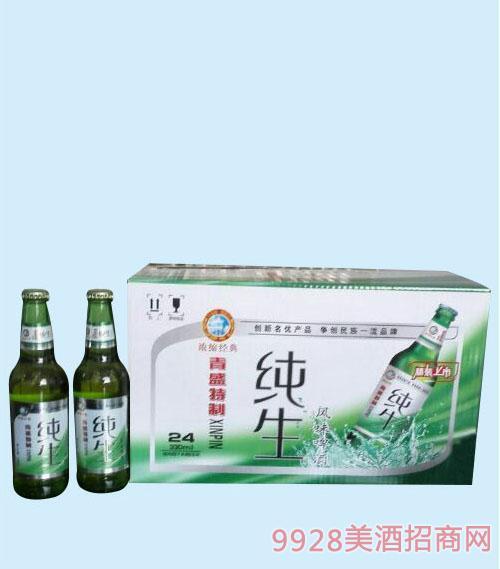 330ml新款纯生啤酒