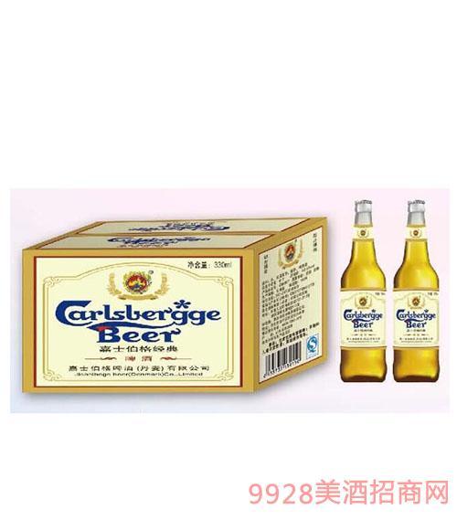 嘉士伯格经典瓶啤酒330ml