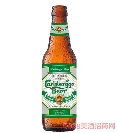 嘉士伯格精品红瓶啤酒330ml