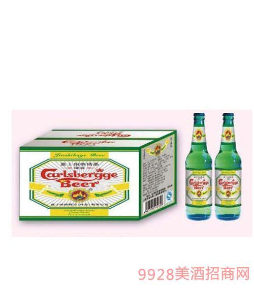 嘉士伯格精品黄瓶啤酒330ml