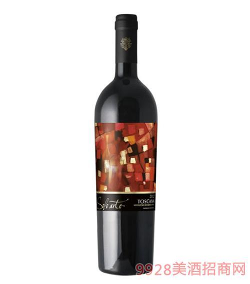 艺术奥斯卡纳红葡萄酒