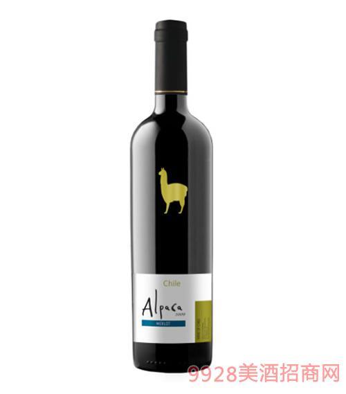 金羊驼精选级美乐葡萄酒