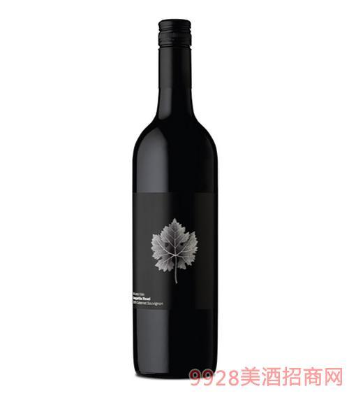 袋鼠之路赤霞珠红葡萄酒