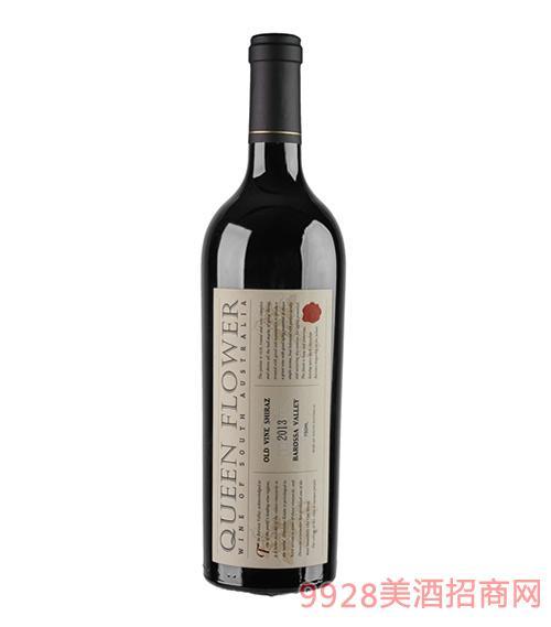 皇后花园老藤西拉红葡萄酒