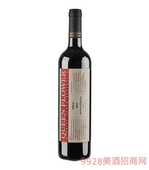 皇后花园西拉红葡萄酒