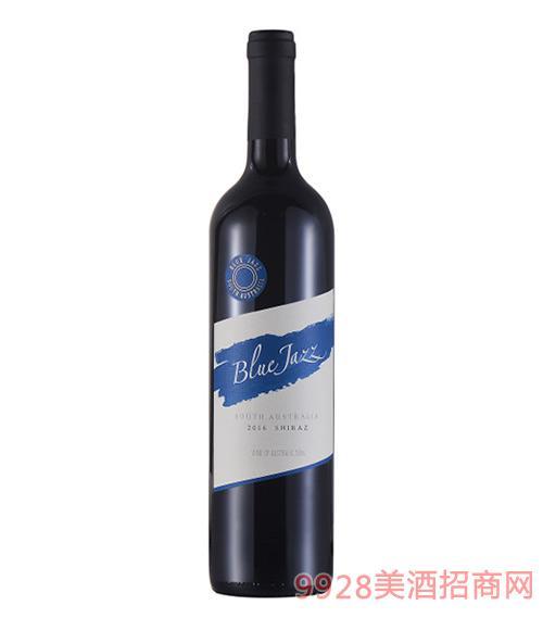蓝爵红葡萄酒2016