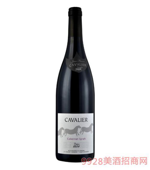 骏马庄骑士赤霞珠西拉红葡萄酒