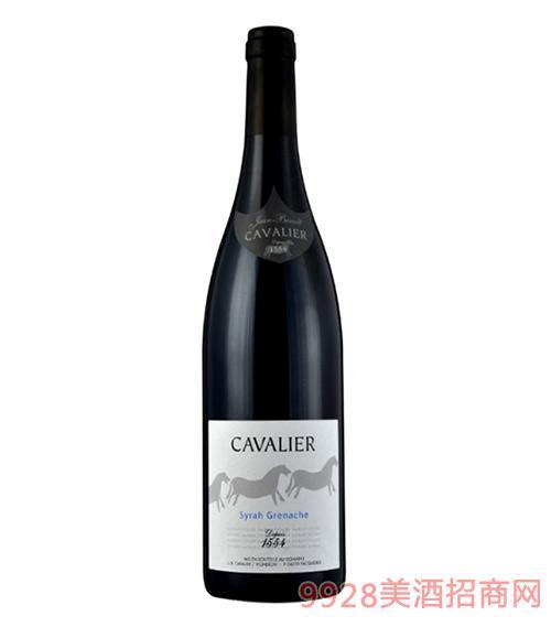 骑士系列西拉歌海娜红葡萄酒