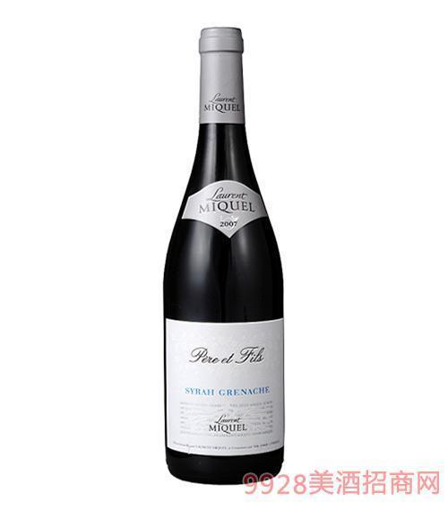 父子西拉歌海娜红葡萄酒