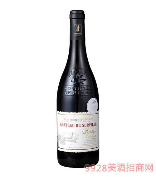 苏威利红葡萄酒