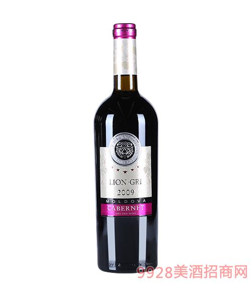 莱恩格瑞2009年赤霞珠干红葡萄酒13度750mlx6
