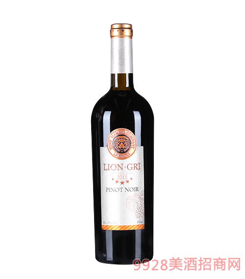 莱恩格瑞2011年黑皮诺干红葡萄酒13度750mlx6