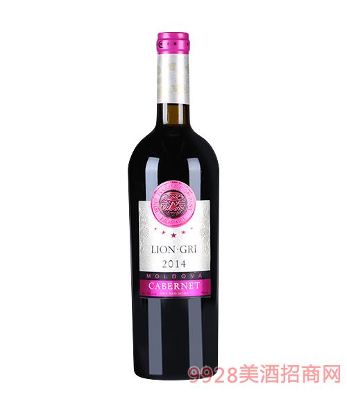 莱恩格瑞2014赤霞珠干红葡萄酒13度750mlx6