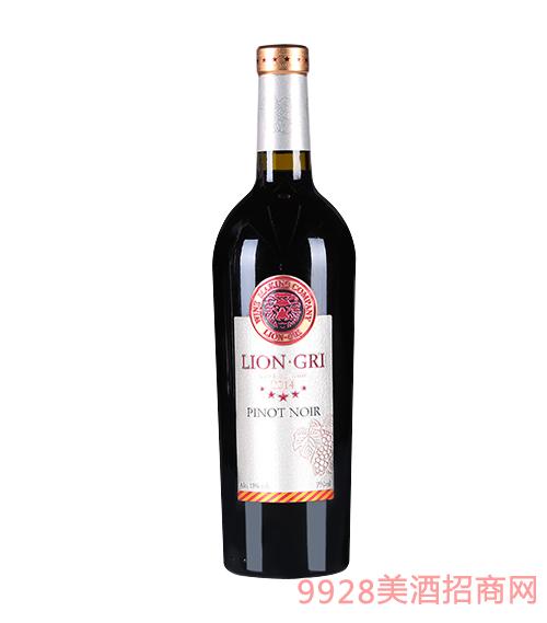 莱恩格瑞2014年黑皮诺干红葡萄酒13度750mlx6