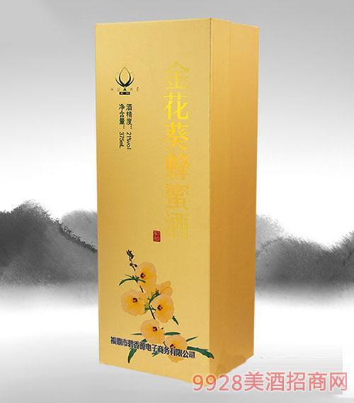 同心印刷-金花葵蜂蜜酒酒盒
