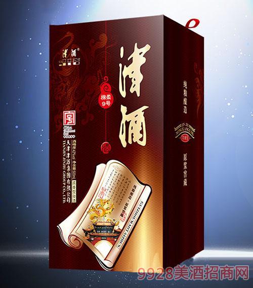 同心印刷-津酒绵柔9号酒盒