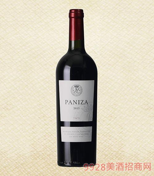 西班牙帕尼萨2016干红葡萄酒