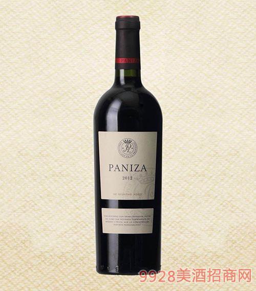 帕尼萨珍藏2012干红葡萄酒