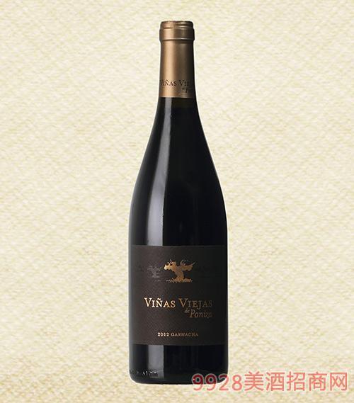 帕尼�_老藤2012干�t葡萄酒|百年老藤歌海娜