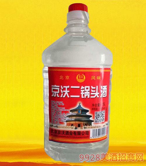 京沃二锅头酒5L
