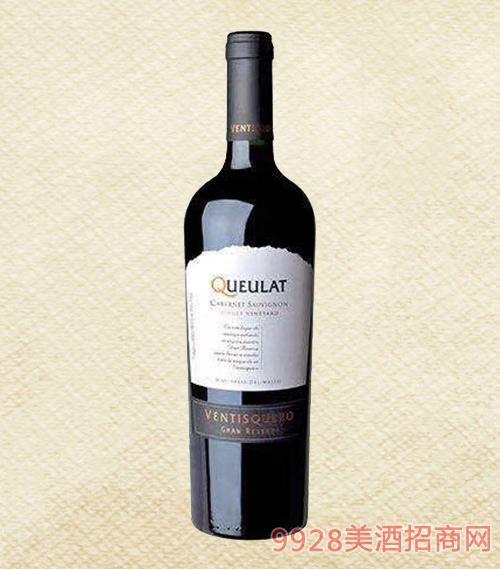 冰川酒庄寇庐山脉庄园珍藏赤霞珠红葡萄酒