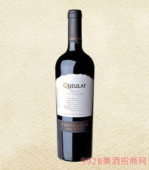 冰川酒庄寇庐山脉庄园珍藏梅洛红葡萄酒