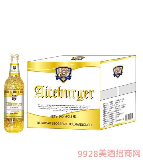 艾特博格啤酒500mlx12瓶(白)