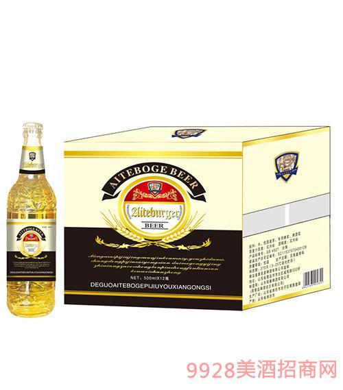 艾特博格啤酒500x12瓶(黑)