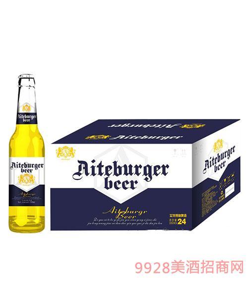 德国艾特博格啤酒330mlx24(蓝)