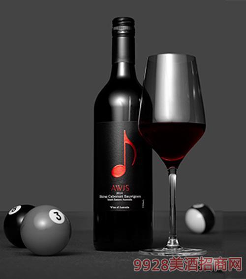 澳洲西拉赤霞珠混酿红葡萄酒