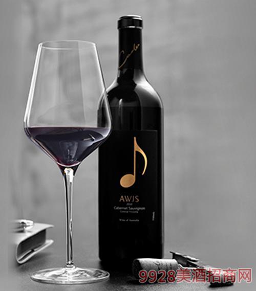 澳洲赤霞珠红葡萄酒