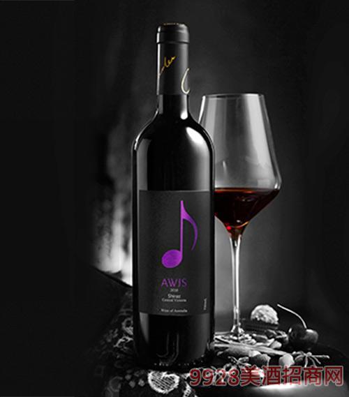 澳洲西拉红葡萄酒