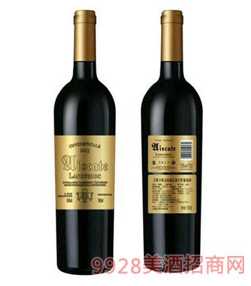 艾斯卡特金伯爵庄园干红葡萄酒13度750ml