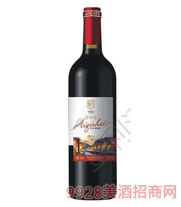 山东爱琴海全汁红葡萄酒10度750ml