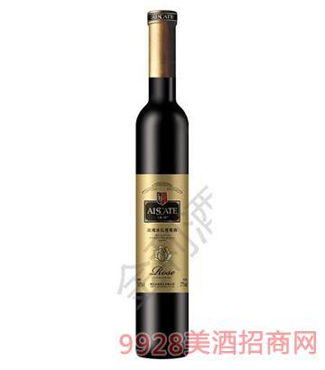 玫瑰冰红葡萄酒10度375ml