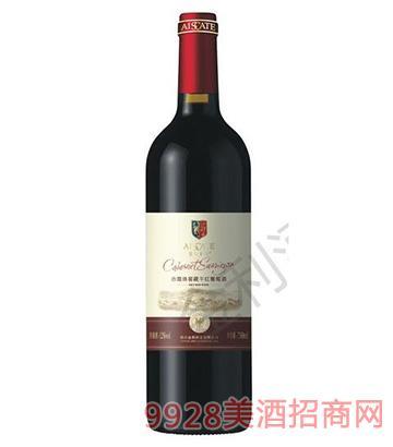 赤霞珠窖藏干红葡萄酒12度750ml