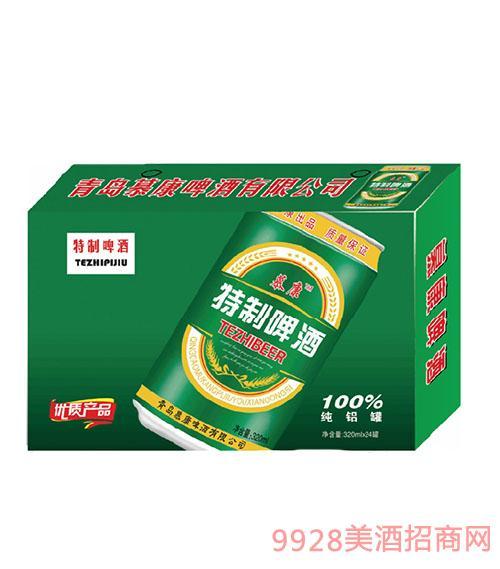 慕康特制啤酒320mlx24罐