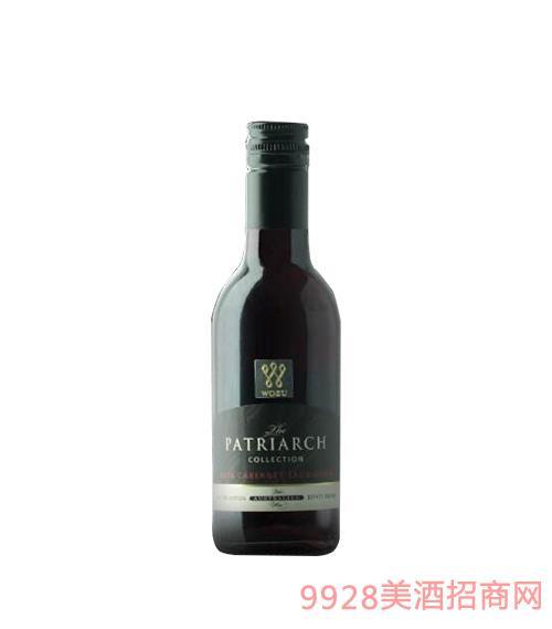 2016沃族铂雅精选系列赤霞珠红葡萄酒187ml