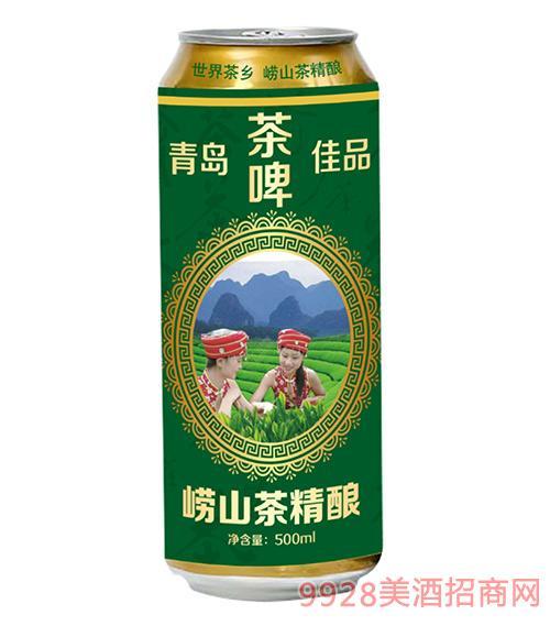 青岛佳品崂山茶精酿啤酒500ml
