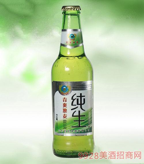 青爽澳麦纯生啤酒330ml