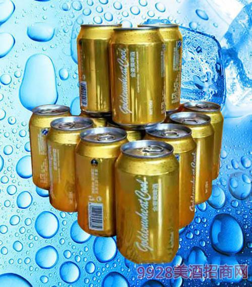 金麦爽啤酒罐装330ml