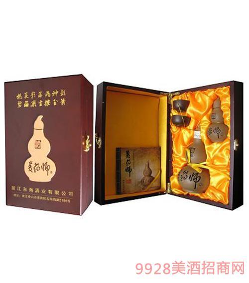 精品礼盒装黄药师酒